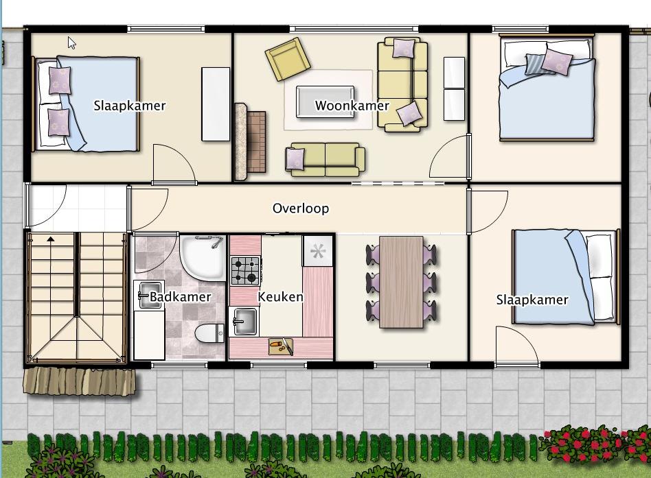 Slaapkamer Televisie : slaapkamers Open haard Ruime woonkamer ...