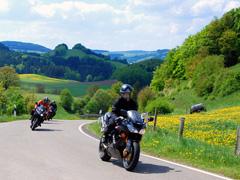Motorrijden in Winterberg